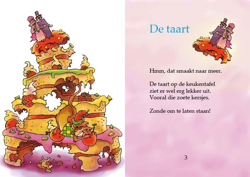 Muizenhapjes - Uitgeverij Maanvis - Leesboek voor 4 - 7 jaar<br>Mike Muis heeft reuzenhonger. Maar hij eet veel meer dan zijn muizenmaagje aankan.
