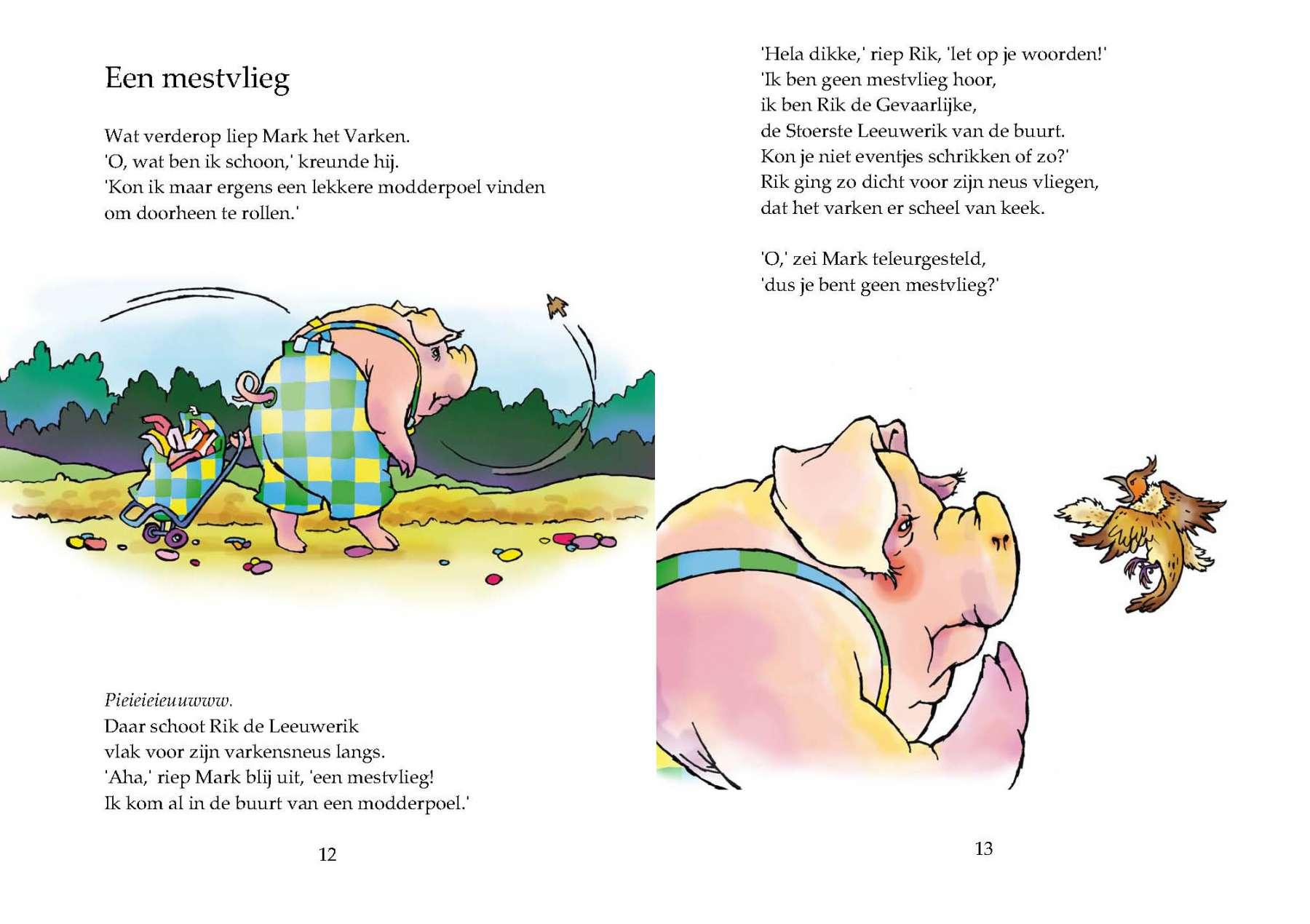 Rik de Leeuwerik - Uitgeverij Maanvis - Leesboek voor 7 - 9 jaar.