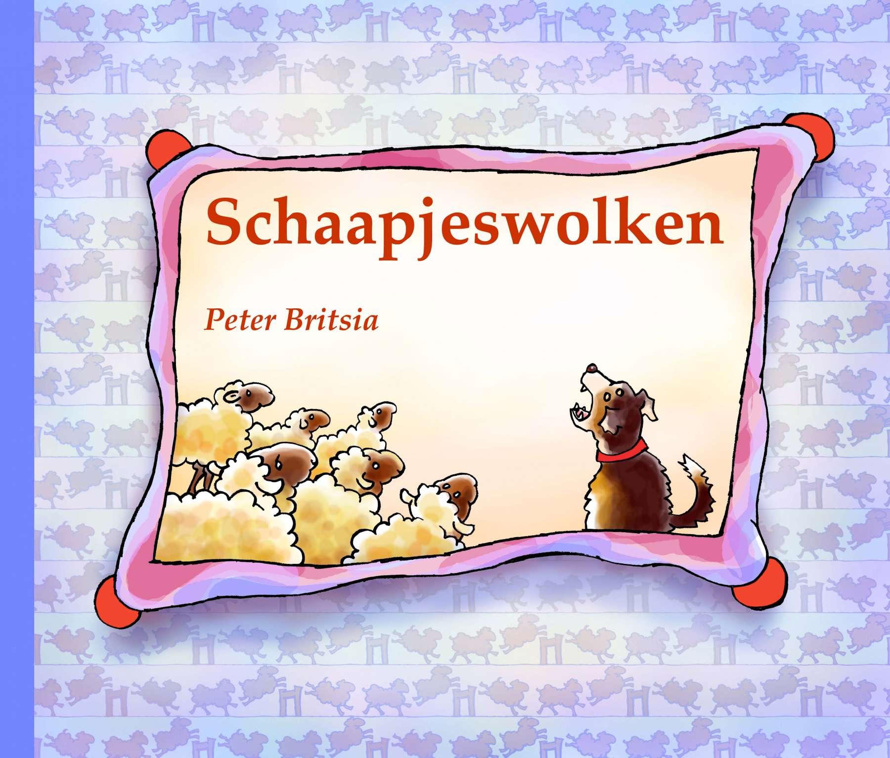 Schaapjeswolken - Uitgeverij Maanvis - Kijkboek voor de kleintjes.