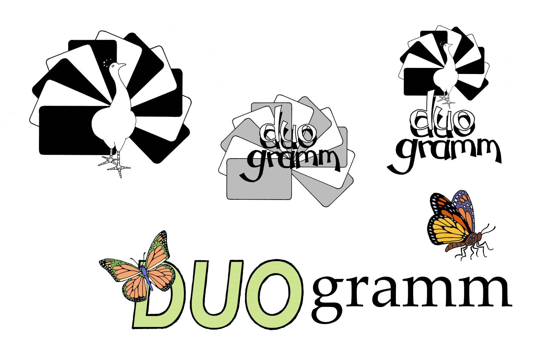 Duogramm - vignet<br>Een Duits therapeutisch taalspel van Edith Schlag voor kinderen met een taalachterstand.