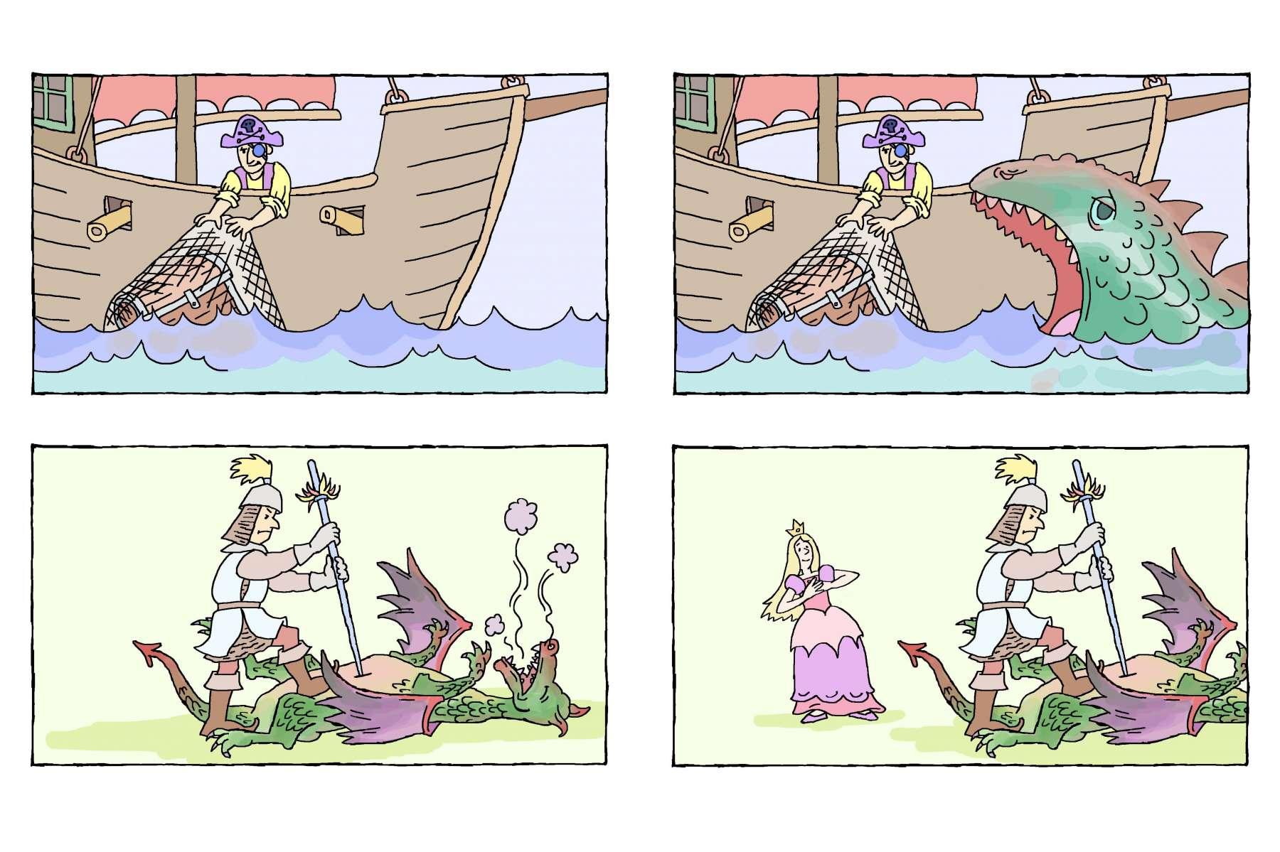"""Duits grammaticaspel volgens wetenschappelijke methode van Edith Schlag. Met 625 kaarten worden taalstructuren spelenderwijs duidelijk gemaakt. <br><a href=""""http://www.edithschlag.de/"""" target=""""_blank""""> www.edithschlag.de</a><br>de piraat vangt een schat - de piraat vangt een schat voor het zeemonster<br>de ridder doodt de draak - de ridder doodt de draak voor de prinses"""
