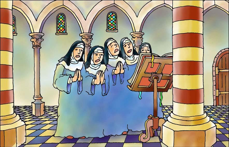 Monniken en kloosters - nonnenkloosters <br>Junior Informatie Reeks - Noordhoff Uitgevers