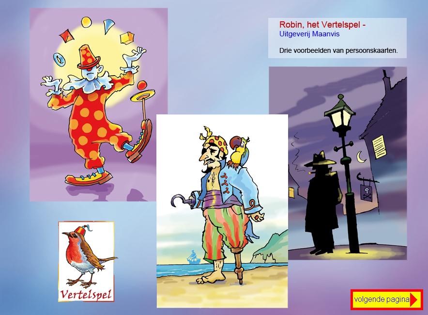 Robin, het Vertelspel - Uitgeverij Maanvis